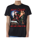 Alice Cooper Men's Tee: Santa Claws