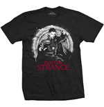Marvel Comics Mens Tee: Doctor Strange Mono Pop