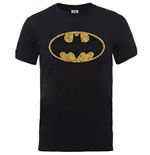 DC Comics Men's Tee: Originals Batman Crackle Logo
