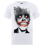 DC Comics Men's Tee: Batman Joker Face of Bats
