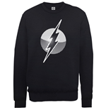 DC Comics Men's Sweatshirt: Originals Flash Spot Logo