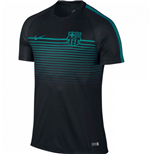 2016-2017 Barcelona Nike Training Shirt (Black-Energy)