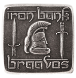 Game of Thrones Coin Braavosi Iron Square