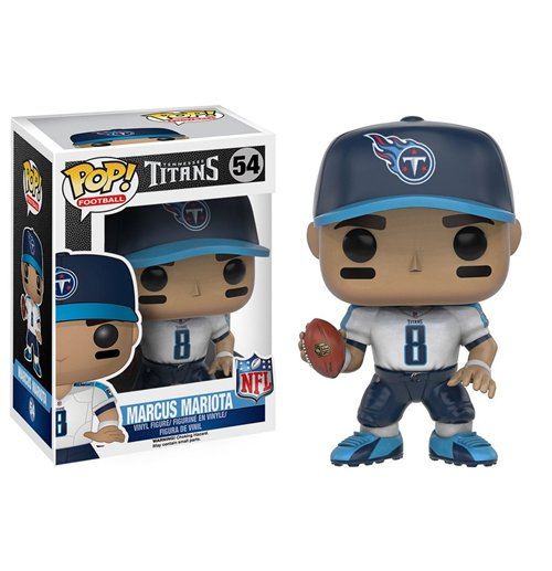 NFL POP! Football Vinyl Figure Marcus Mariota Tennessee Titans 9 cm for only £ 15.73 at
