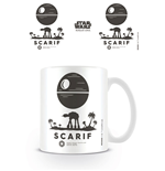 Star Wars Rogue One Mug Scarif Symbol