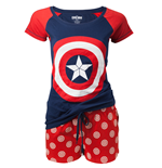Captain America - Shield Logo Shortama