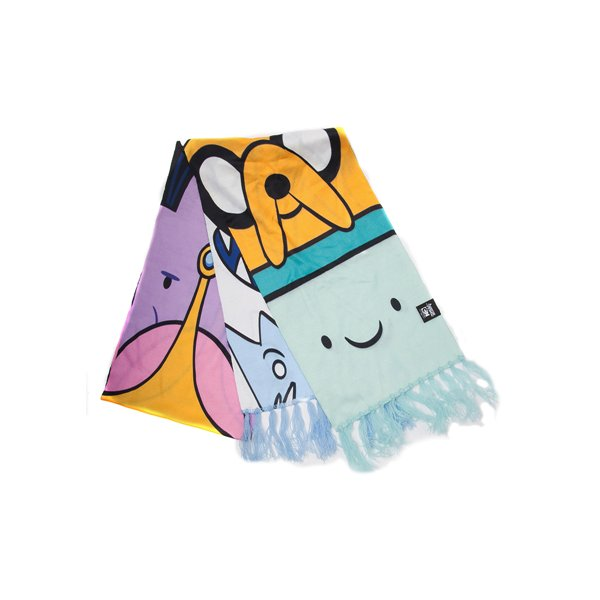 Adventure Time - All Characters Knitted Scarf