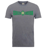 DC Comics Men's Tee: Originals Green Lantern Crackle Logo