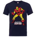 Marvel Comics Boy's Tee: Iron Man Pose