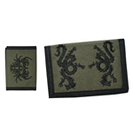 Tribal - Army Green Velcro Wallet