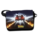 Back to the Future Shoulder Bag DeLorean Trails