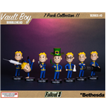 Fallout 3 Bobble-Heads 13 cm Vault-Tec Vault Boys Series 3 7-Pack