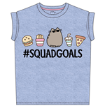 Pusheen Ladies T-Shirt Squad Goals