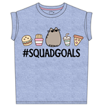 Pusheen T-shirt Squad Goals