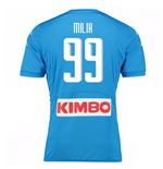 2016-17 Napoli Replica Home Shirt (Milik 99) - Kids