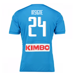 2016-17 Napoli Replica Home Shirt (Insigne 24)