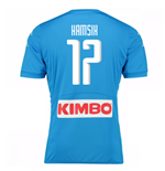 2016-17 Napoli Authentic Home Shirt (Hamsik 17)