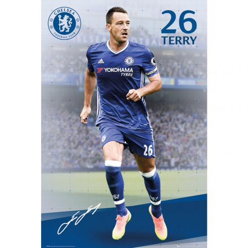 Chelsea F.C. Poster Terry 31