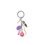 Adventure Time - Princesses Metal Keychain With Charms