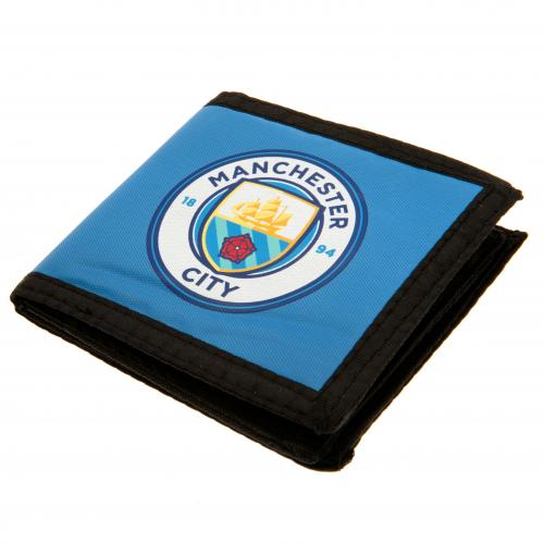 Manchester City F.C. Canvas Wallet