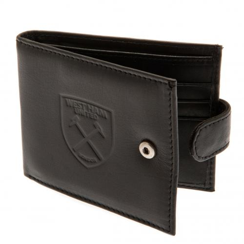 West Ham United F.C. Embossed Leather Wallet 805