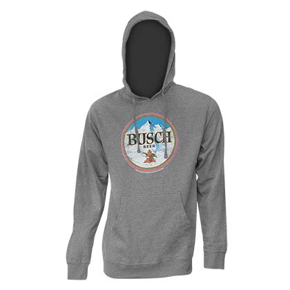 BUSCH Heather Grey Hoodie