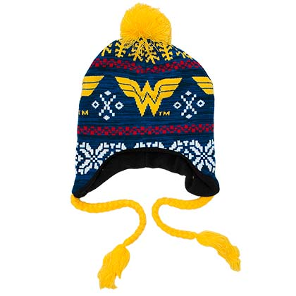 WONDER WOMAN Laplander Hat