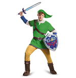 Legend of Zelda Adult Deluxe Costume Link  (38-40)