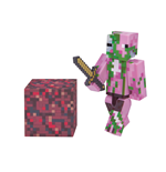Minecraft Action Figure Zombie Pigman 8 cm