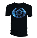 Doctor Strange T-Shirt Blue Symbol Oblong black
