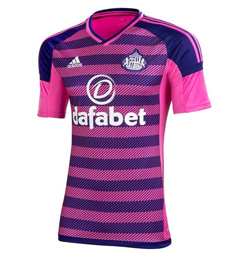 2016-2017 Sunderland Adidas Third Football Shirt
