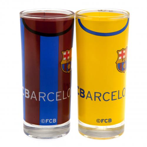 F.C. Barcelona 2pk High Ball Glass