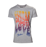 Fender - Guitar groove love Men's T-shirt