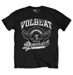 Volbeat Men's Tee: Rise from Denmark