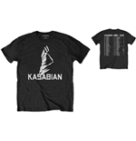 Kasabian Men's Special Edition Tee: Ultra Face 2004 Tour
