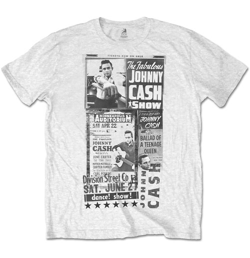 Johnny Cash Men's Special Edition Tee: The Fabulous Johnny Cash Show