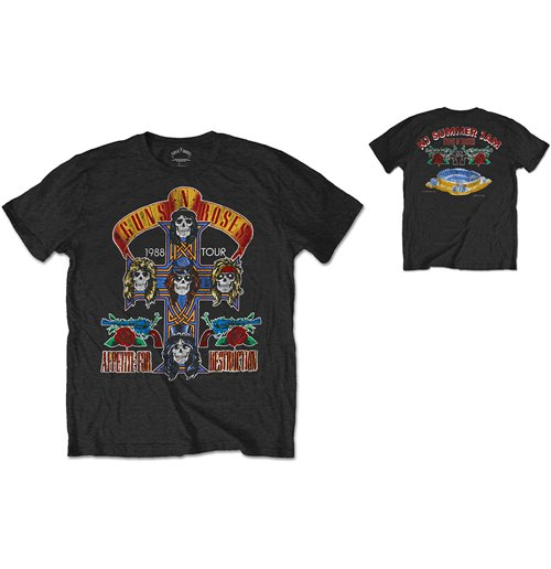 Guns N' Roses Men's Special Edition Tee: NJ Summer Jam 1988