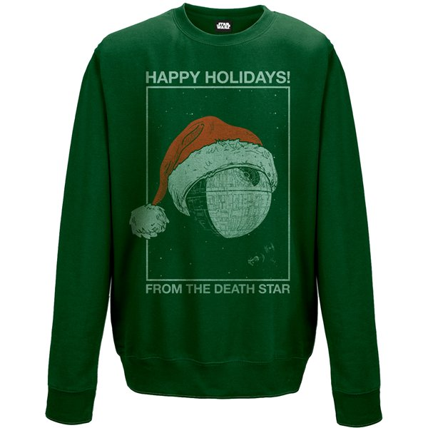Star Wars Sweatshirt Death Star Holidays