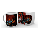 Realm Of The Damned Mug Scream Blue