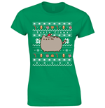 Pusheen T-shirt Santa Claws