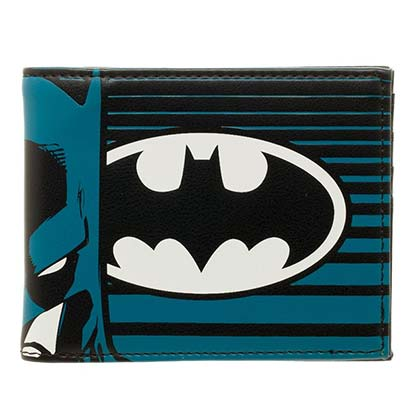 BATMAN Wallet and Keychain Gift Set