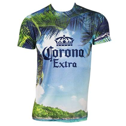 CORONA EXTRA Beach Sublimated Tshirt