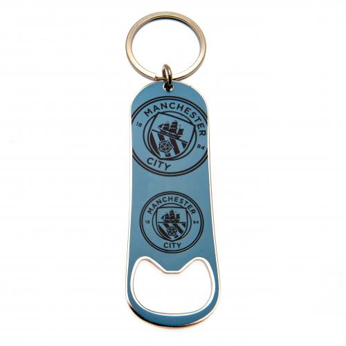 Manchester City F.C. Bottle Opener Keychain
