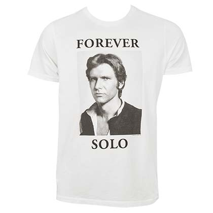 STAR WARS Junk Food Forever Solo Han Solo Tshirt