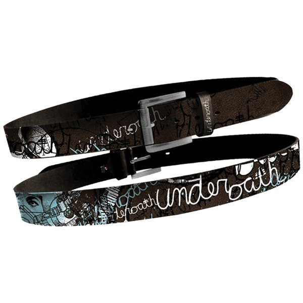 Underoath - Brown Cracked Belt