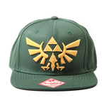 Zelda - Twilight Princess, Snapback With Golden Triforce Logo