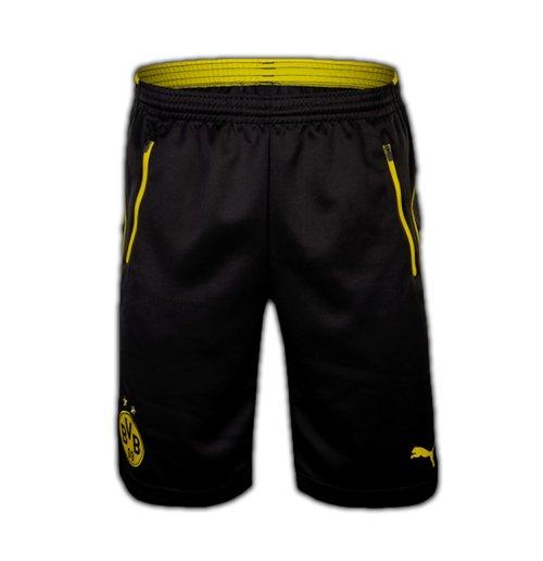 f3490b146d 2016-2017 Borussia Dortmund Puma Training Shorts with Pockets (Black)