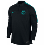 2016-2017 Barcelona Nike Drill Training Top (Black-Energy) - Kids