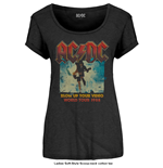 AC/DC Ladies Fashion Tee: Blow Up Your Video