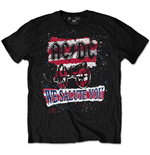 AC/DC Men's Special Edition Tee: We Salute You Stripe